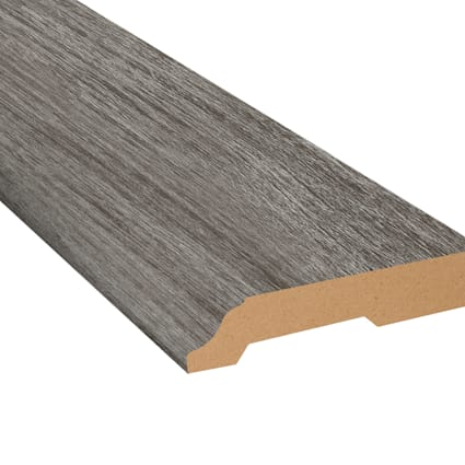 Winterwood Oak Vinyl 3.25 in wide x 7.5 ft Length Baseboard