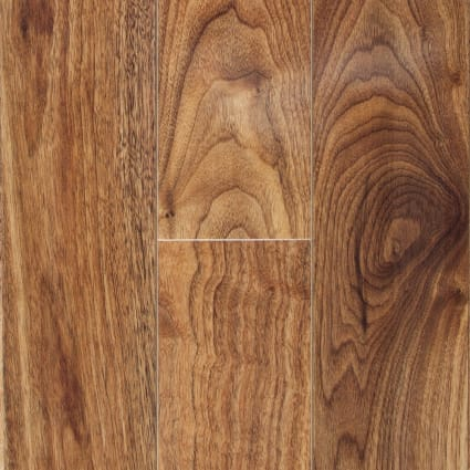 10mm Honey Walnut High Gloss Laminate Flooring