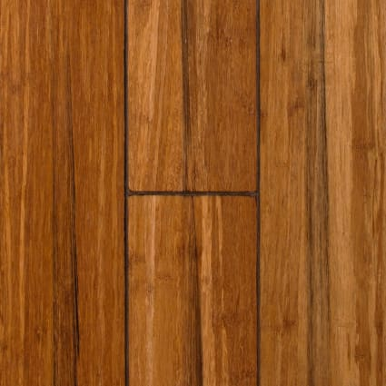 1/2 in x 5 1/8 in Raleigh Strand Distressed Wide Plank Solid Bamboo Flooring
