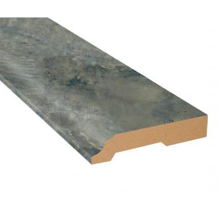 Sierra Blue Slate Vinyl 3.25 in wide x 7.5 ft Length Baseboard