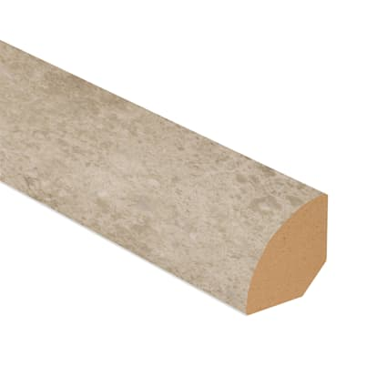 Colosseum Travertine Vinyl 1.075 in wide x 7.5 ft Length Quarter Round