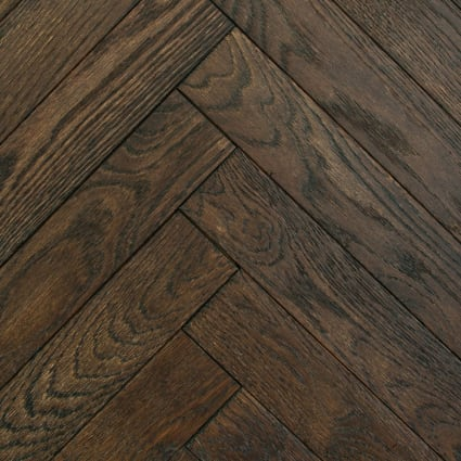 3/4 in. x 5 in. Watch Hill Distressed Herringbone Solid Hardwood Flooring