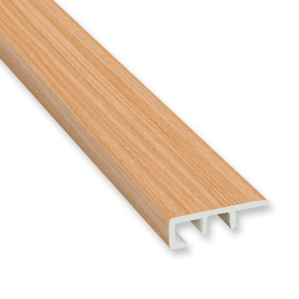 Heartland Red Oak Vinyl Waterproof 1.5 in wide x 7.5 ft Length End Cap
