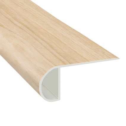 Buttercream Maple Vinyl Waterproof 2.25 in wide x 7.5 ft Length Low Profile Stair Nose