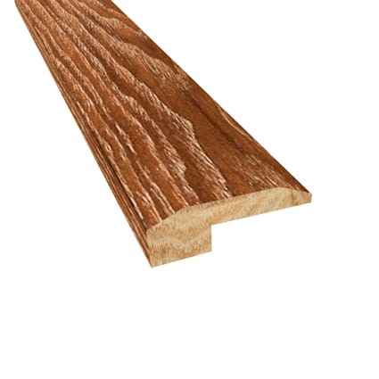 Prefinished Distressed North Hampton Hickory Hardwood 5/8 in thick x 2 in wide x 78 in Length Thresh