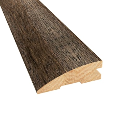 Prefinished Distressed Bristol Tavern Hickory Hardwood 3/4 in thick x 2.25 in wide x 78 in Length Re