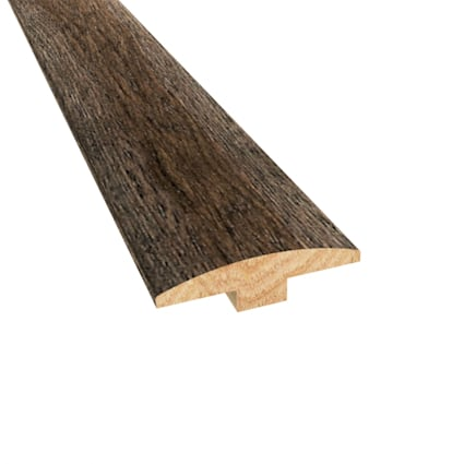 Prefinished Distressed Bristol Tavern Hickory Hardwood 1/4 in thick x 2 in wide x 78 in Length T-Mol