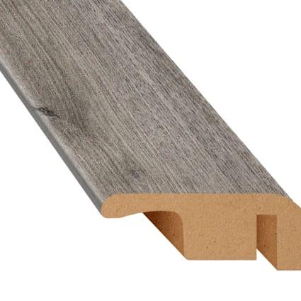 Stockholm Silver Oak Laminate 1.374 in wide x 7.5 ft Length End Cap