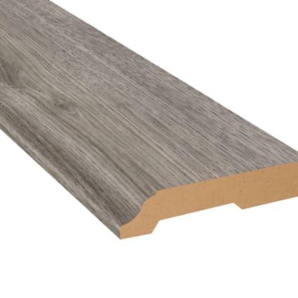 Stockholm Silver Oak Laminate 3.25 in wide x 7.5 ft Length Baseboard