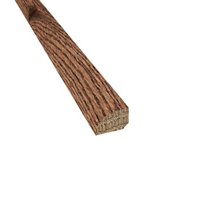 Prefinished Distressed Kingston Oak Hardwood 1/2 in thick x .75 in wide x 78 in Length Shoe Molding