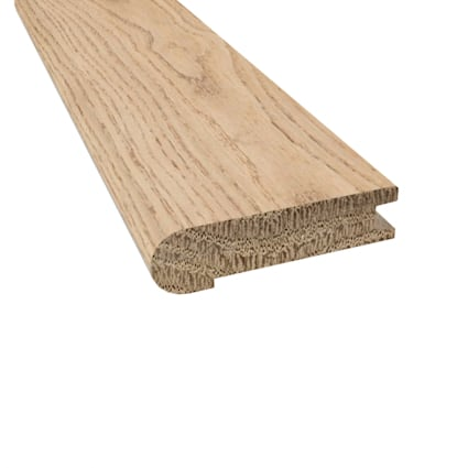 Prefinished Distressed New Shoreham Oak Hardwood 3/4 in thick x 3.125 in wide x 78 in Length Stair N