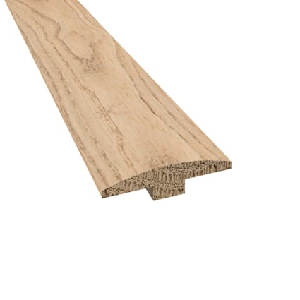 Prefinished Distressed New Shoreham Oak Hardwood 1/4 in thick x 2 in wide x 78 in Length T-Molding