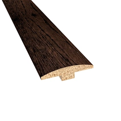 Prefinished Distressed Scarborough Oak Hardwood 1/4 in thick x 2 in wide x 78 in Length T-Molding