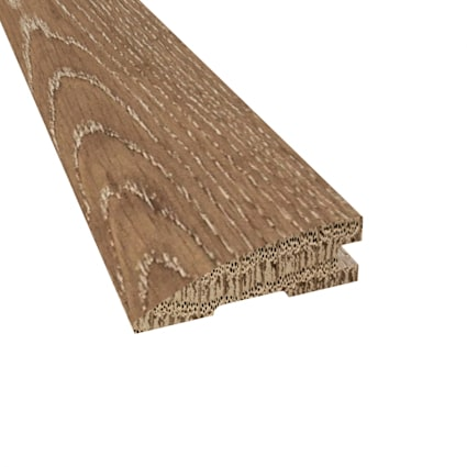 Prefinished Distressed Tangier Oak Hardwood 3/4 in thick x 2.25 in wide x 78 in Length Reducer