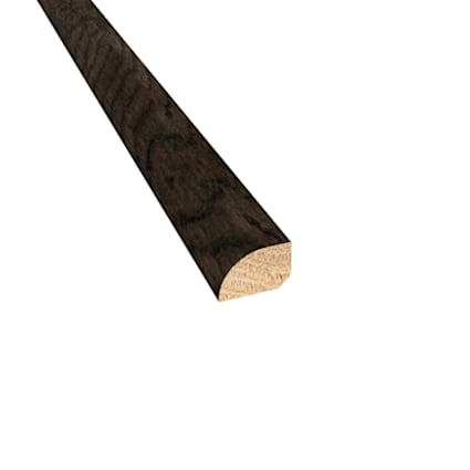 Prefinished Distressed Addison Oak Hardwood 1/2 in thick x .75 in wide x 78 in Length Shoe Molding