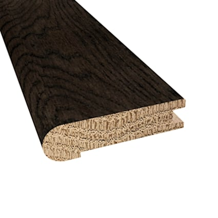 Prefinished Distressed Addison Oak Hardwood 3/4 in thick x 3.125 in wide x 78 in Length Stair Nose