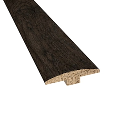Prefinished Distressed Addison Oak Hardwood 1/4 in thick x 2 in wide x 78 in Length T-Molding