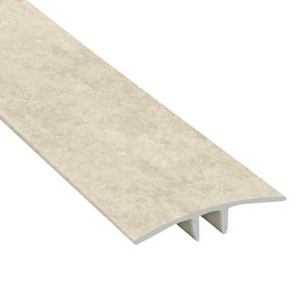 Terrace Stone Laminate Waterproof 1.75 in wide x 7.5 ft Length Low Profile T-Molding