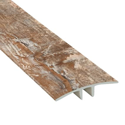 Tuscan Range Maple Laminate Waterproof 1.75 in wide x 7.5 ft Length Low Profile T-Molding