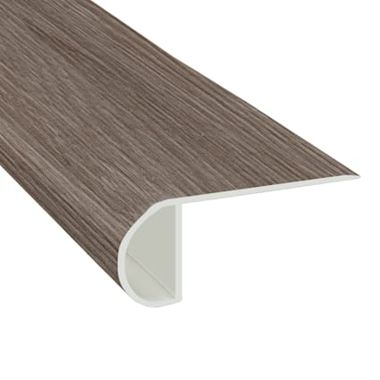 Pike Place Ash Laminate Waterproof 2.3 in wide x 7.5 ft Length Low Profile Stair Nose
