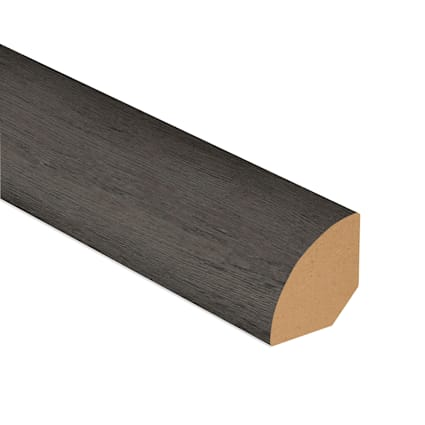 Foggy Bottom Oak Laminate 1.075 in wide x 7.5 ft Length Quarter Round