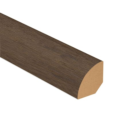 Tacoma Oak Laminate 1.075 in wide x 7.5 ft Length Quarter Round