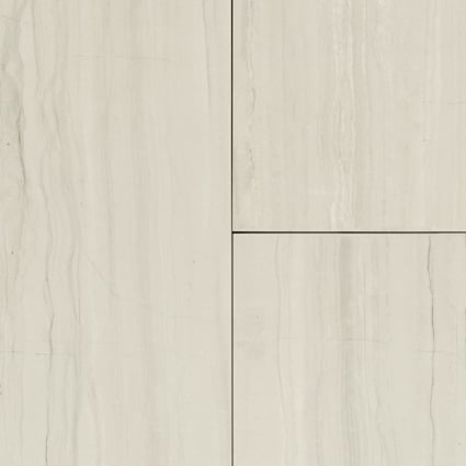 24 in. x 12 in. Cabrillo Gray Porcelain Tile