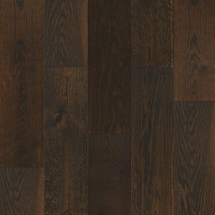 3/8 in. x 6-3/8 in. Palisade Oak Wire Brushed Engineered Hardwood Flooring