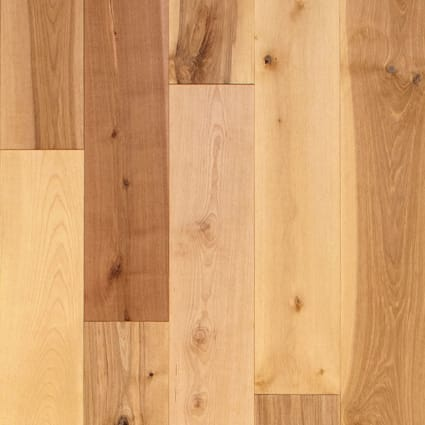 3/4 in. x 5.25 in. Bellingham Distressed Solid Hardwood Flooring