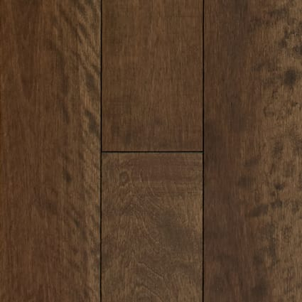 3/4 in. x 5.25 in. Newmarket Distressed Solid Hardwood Flooring