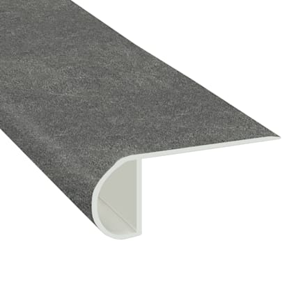 Burgess Gray Brick Laminate Waterproof 2.3 in wide x 7.5 ft Length Low Profile Stair Nose