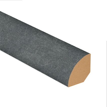 Burgess Gray Brick Laminate 1.075 in wide x 7.5 ft Length Quarter Round