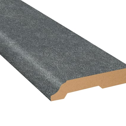 Burgess Gray Brick Laminate 3.25 in wide x 7.5 ft Length Baseboard