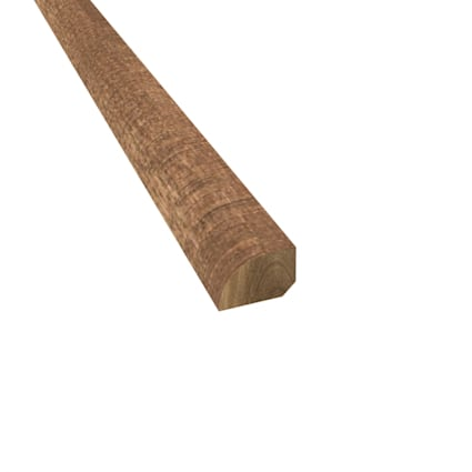 Prefinished Distressed Cavendish Hardwood 1/2 in thick x .75 in wide x 78 in Length Shoe Molding