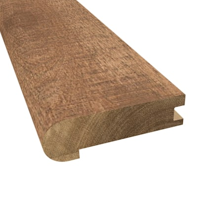 Prefinished Distressed Cavendish Hardwood 3/4 in thick x 3.125 in wide x 78 in Length Stair Nose