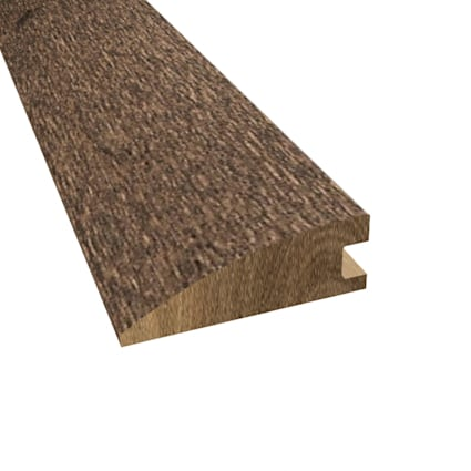 Prefinished Distressed Hardwood Bettencourt 3/4 in thick x 2.25 in wide x 78 in Length Reducer