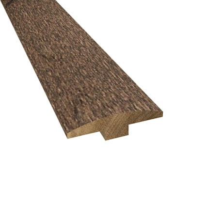 Prefinished Distressed Hardwood Bettencourt 1/4 in thick x 2 in wide x 78 in Length T-Molding