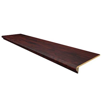 Homeland Hickory Engineered Vinyl Plank 48 in Retrofit Stair Tread