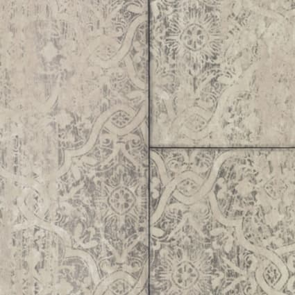 6mm+pad Victorian Chic Linen Rigid Vinyl Plank Flooring 18 in. Wide x 36 in. Long