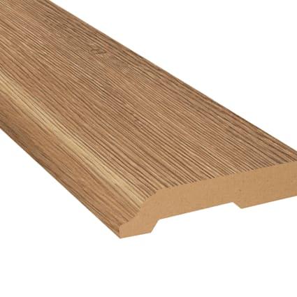 Wheat Field Oak Laminate 3.25 in wide x 7.5 ft Length Baseboard