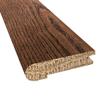 Prefinished Distressed Manhattan Chevron Hardwood 5/8 in thick x 2.75 in wide x 78 in Length Stair N