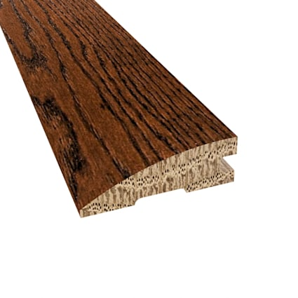 Prefinished Distressed Kensington Oak Hardwood 3/4 in thick x 2.25 in wide x 78 in Length Reducer
