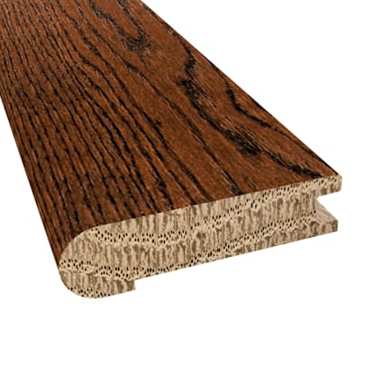 Prefinished Distressed Kensington Oak Hardwood 3/4 in thick x 3.125 in wide x 78 in Length Stair Nos