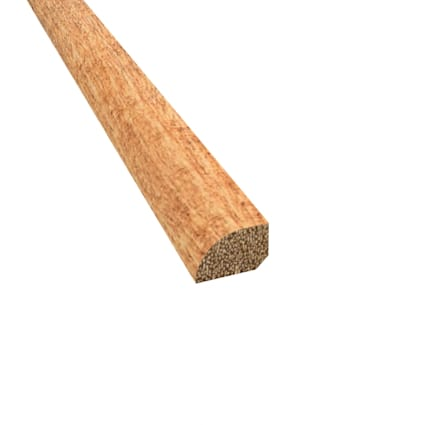 Prefinished Distressed Newmarket Hardwood 1/2 in thick x .75 in wide x 78 in Length Shoe Molding