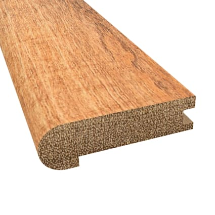 Prefinished Distressed Newmarket Hardwood 3/4 in thick x 3.125 in wide x 78 in Length Stair Nose