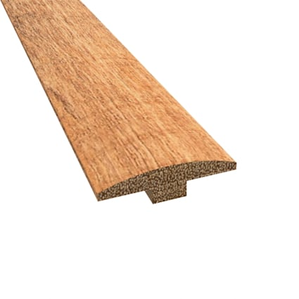 Prefinished Distressed Newmarket Hardwood 1/4 in thick x 2 in wide x 78 in Length T-Molding