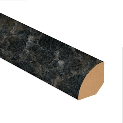 Smokey Quartz Vinyl 1.075 in wide x 7.5 ft Length Quarter Round