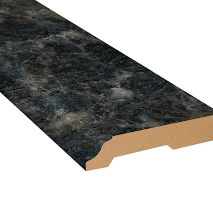 Smokey Quartz Vinyl 3.25 in wide x 7.5 ft Length Baseboard