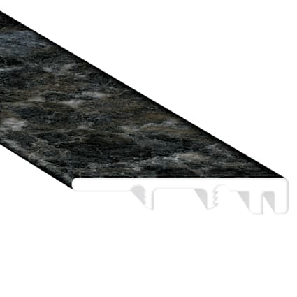 Smokey Quartz Vinyl Waterproof 1.5 in wide x 7.5 ft Length End Cap