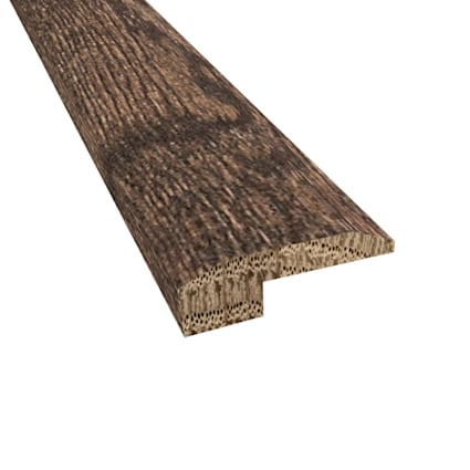 Prefinished Distressed Coggeshall Oak Hardwood 5/8 in thick x 2 in wide x 78 in Length Threshold